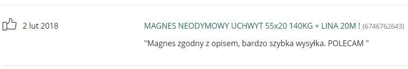 Купить МАГНИТ НЕОДИМОВЫЙ ДЕРЖАТЕЛЬ ИСКАТЕЛЬ 40x15 70 КГ ! на Otpravka - цены и фото - доставка из Польши и стран Европы в Украину.