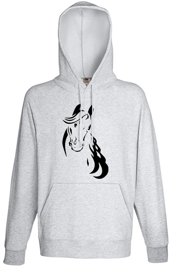 Bluza kaptur koń z koniem konikem jeździecka XXL*