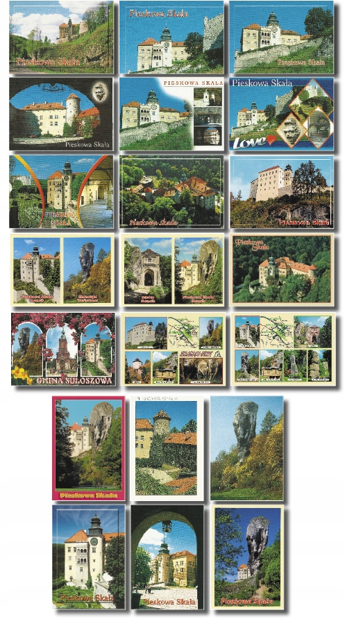 Dog Castle Rock Maczuga pohľadnice sada 21