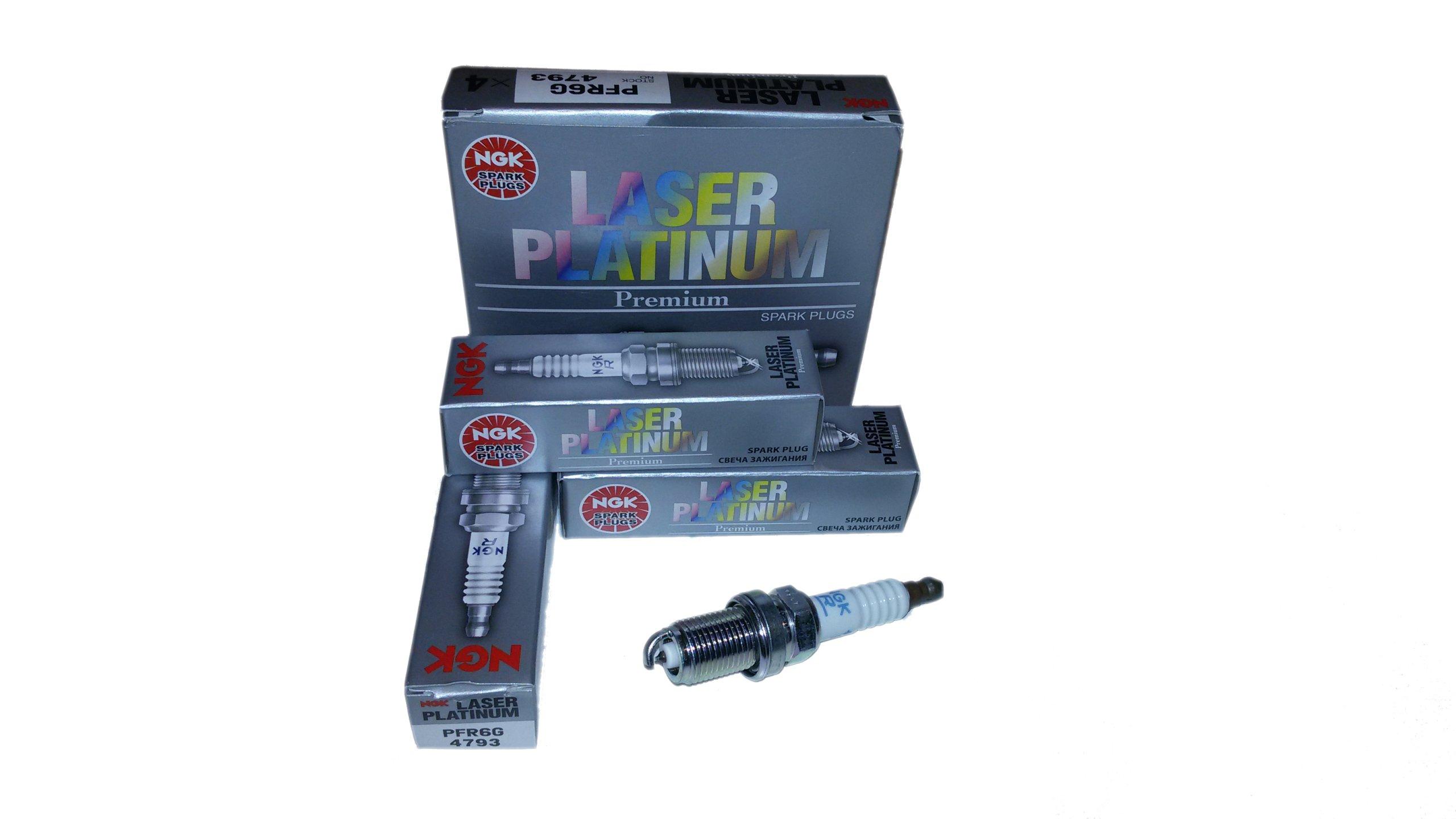 Pack of 1 4793 NGK PFR6G Laser Platinum Spark Plug
