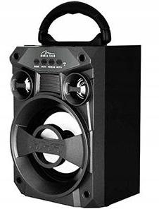 RADIO FM PRZENOŚNE Z ODTWARZACZ MP3 USB SD BT 300W