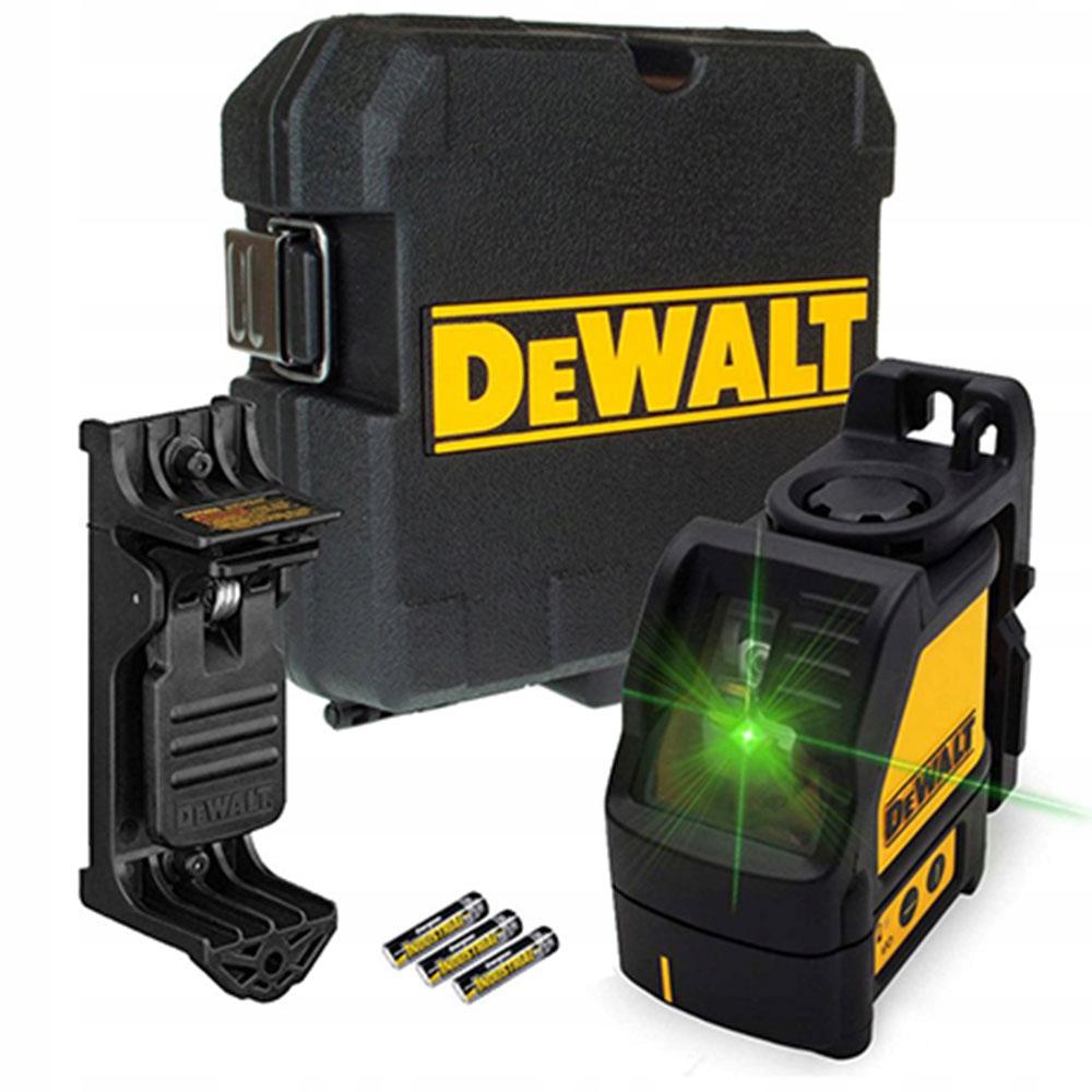 DeWALT DW088CG ZIELONY laser krzyżowy zasięg 20m