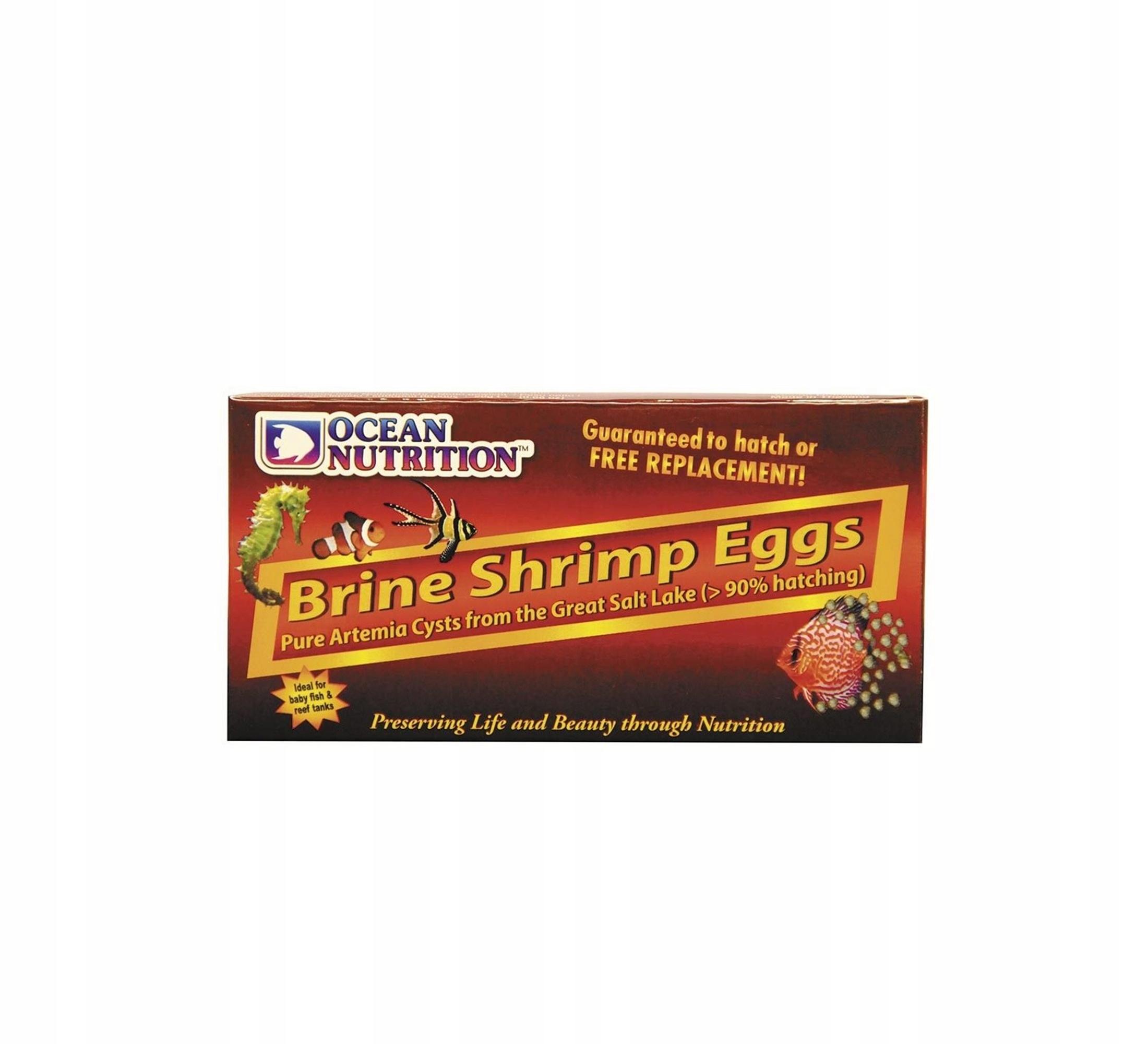 OCEAN VÝŽIVY slanom Náleve Krevety Vajcia 50g cysty, artemi