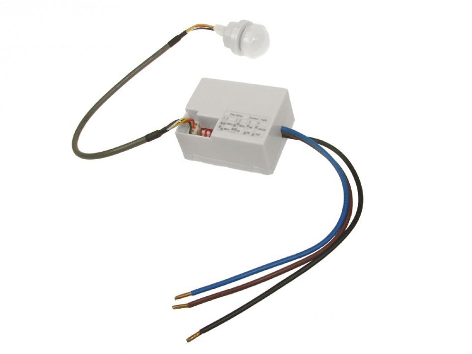 Датчик движения Сумеречный датчик PIR-сенсор mini 12V