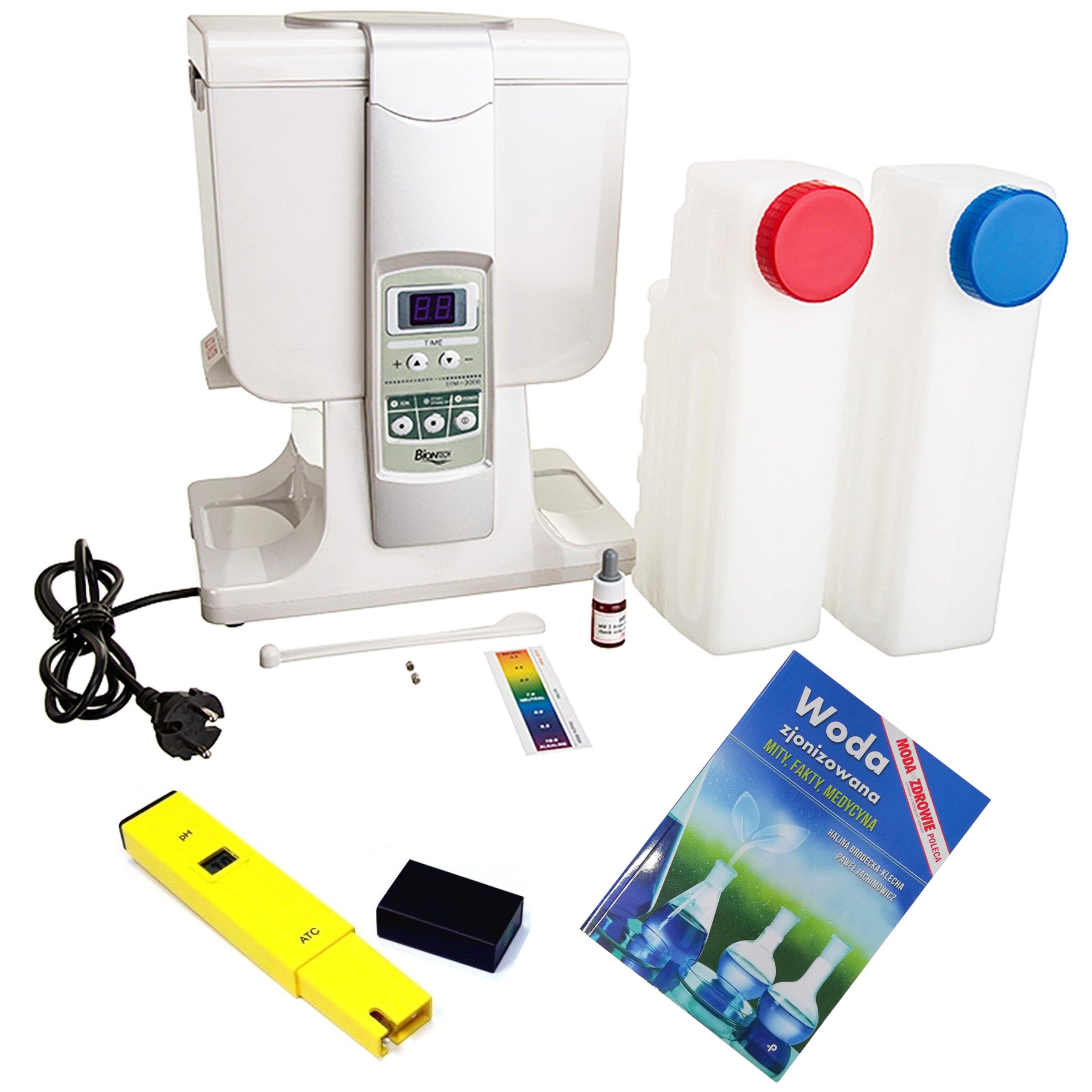 BIONTECH BTM-3000 Voda Ionizátor Pile pH meter