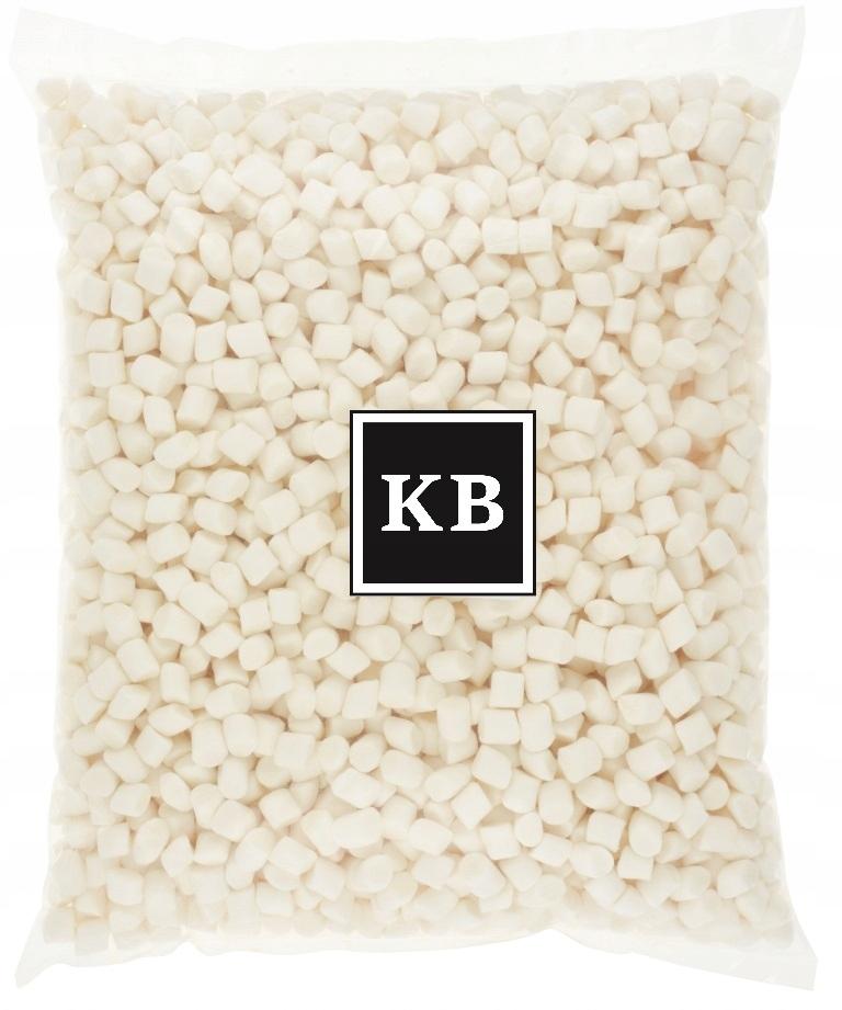 Mini penové marshmallows biela marshmallows 1 kg