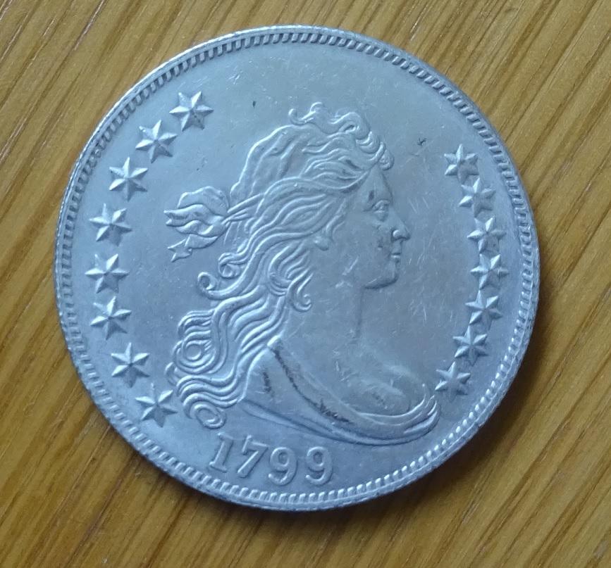 USA 1 DOLLAR 1799 Kopírovanie-Falsfiles