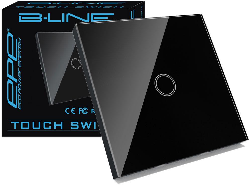 B -LINE Выключатель Соединитель Сенсорный стеклянный стекло 1ГБ
