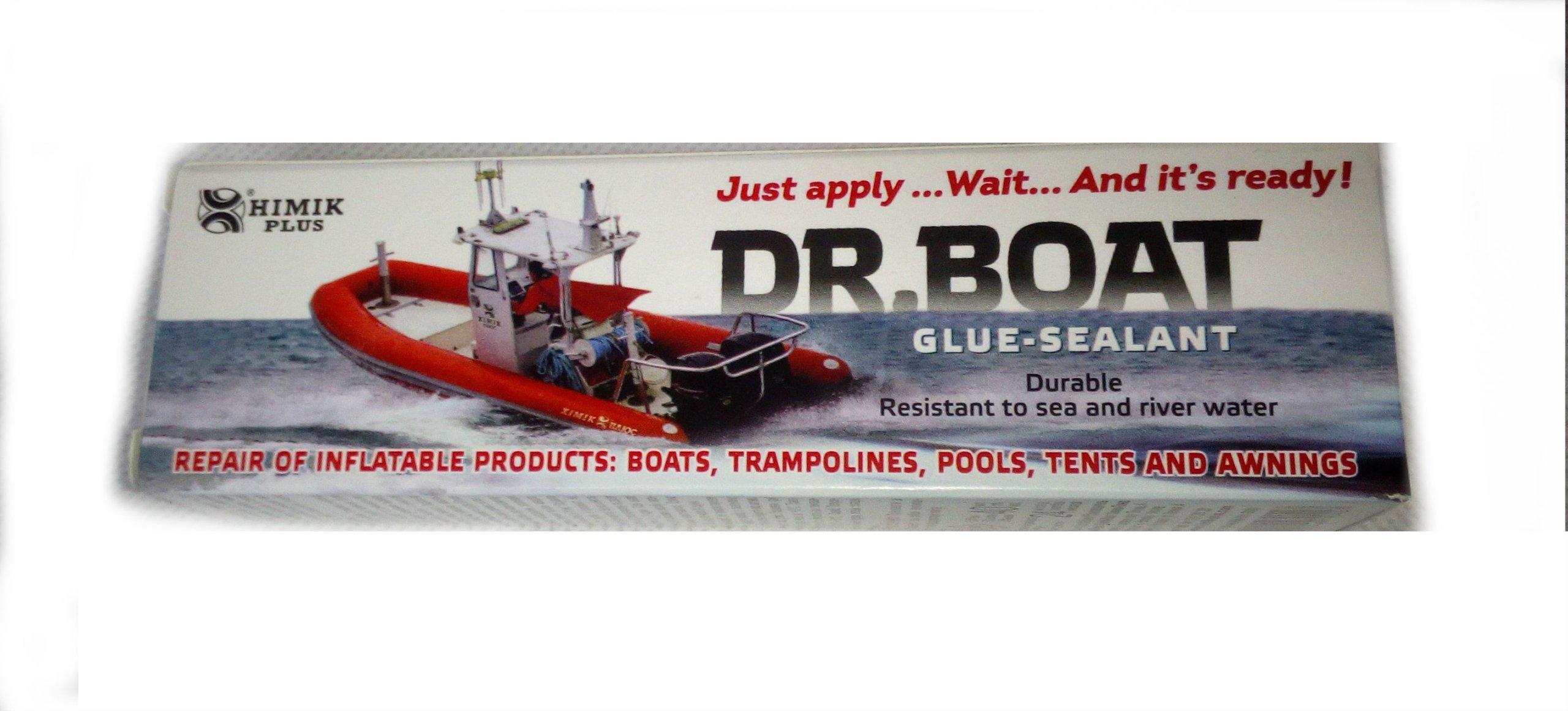 профессиональный клей PVC 2w1 на ponton basen DR.BOAT
