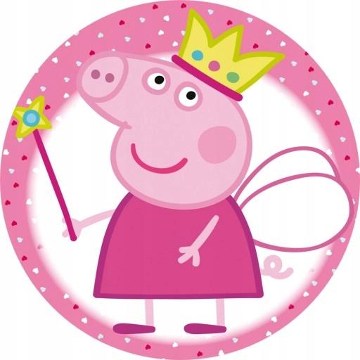 Купить ТОЛСТЫЙ ВАФЕЛЬНЫЕ НА ТОРТ PEPPA PIG КРУГ 20СМ на Otpravka - цены и фото - доставка из Польши и стран Европы в Украину.