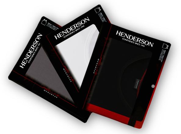 MĘSKA KOSZULKA HENDERSON RED LINE x 3szt. - M Marka Henderson