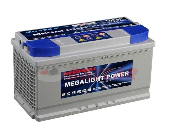 Thermotrousers MEGAlight batérie AGM 100 Ah, POTRAVINY, JACHTY