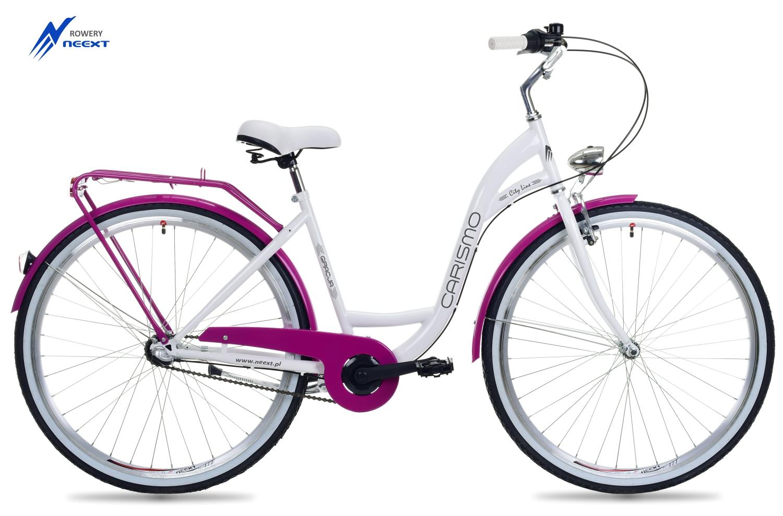 Dámsky mestský bicykel 28 GRACE 3 Gears Dutch veľkosť rámu 18 palcov