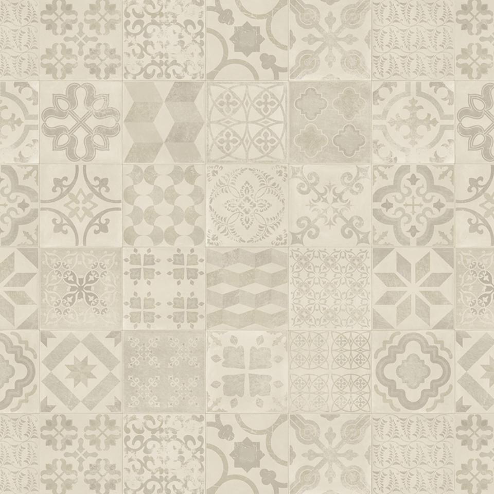 Koberec | PVC TARKETT | dlaždice retro 400x1000cm