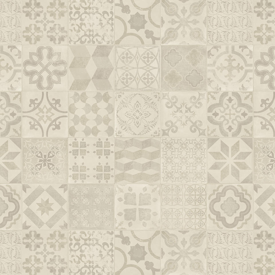 Koberec | PVC TARKETT | dlaždice retro 400x750 cm