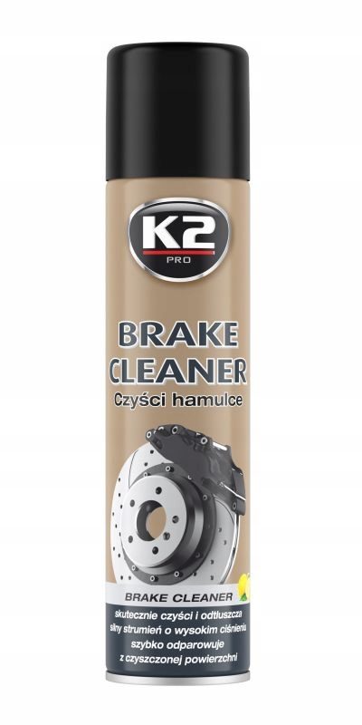 K2 CLEANER BRAKE ZMYWACZ DO TARCZ HAMULCÓW 600ML