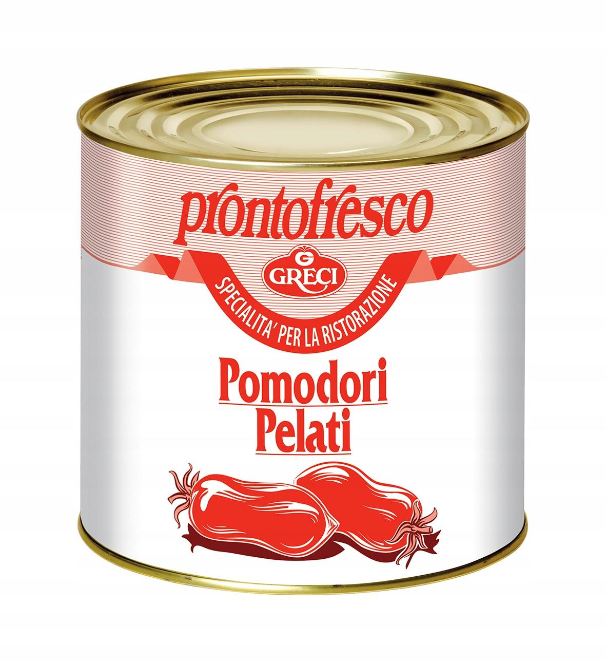Помидоры pelati PRONTOFRESCO 2 ,5 кг 4972