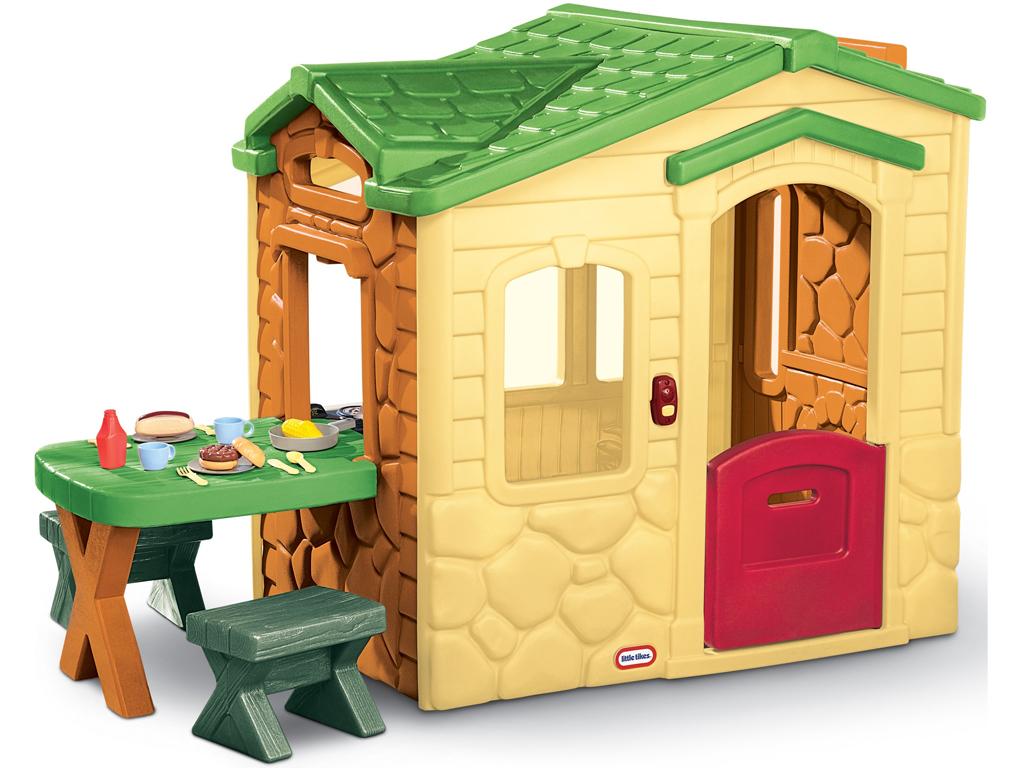 Little Tikes Big Cottage s Patio pre deti Kuchyňa