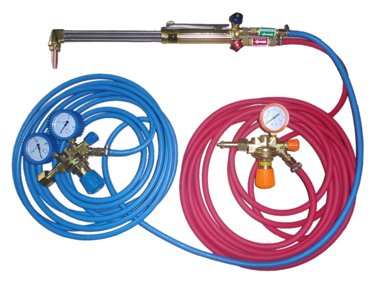 Plynový horák pre propánové rezanie kyslíka 75 cm set