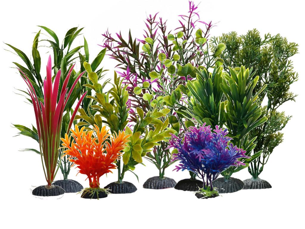 vytvoriť svoj vlastný rastlín 9pcs umelé 12-35 cm