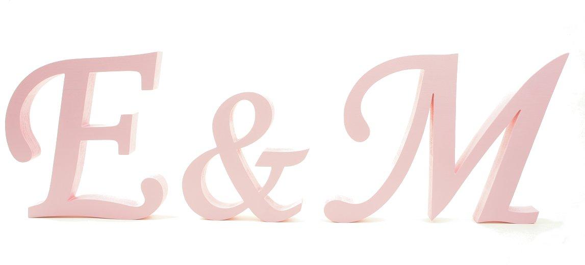 Inicjaly буквы свадьбное свадьба 20cm 100% деревянные