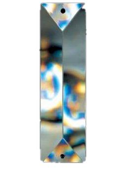 Item Oblong crystal 76x22 cm PRISM