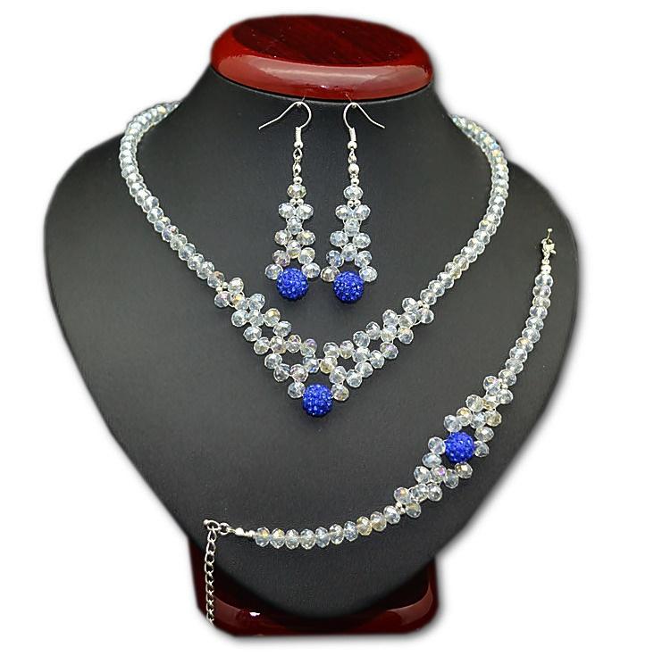 Item JEWELRY, WEDDING dress ,WEDDING SET necklace rhinestone