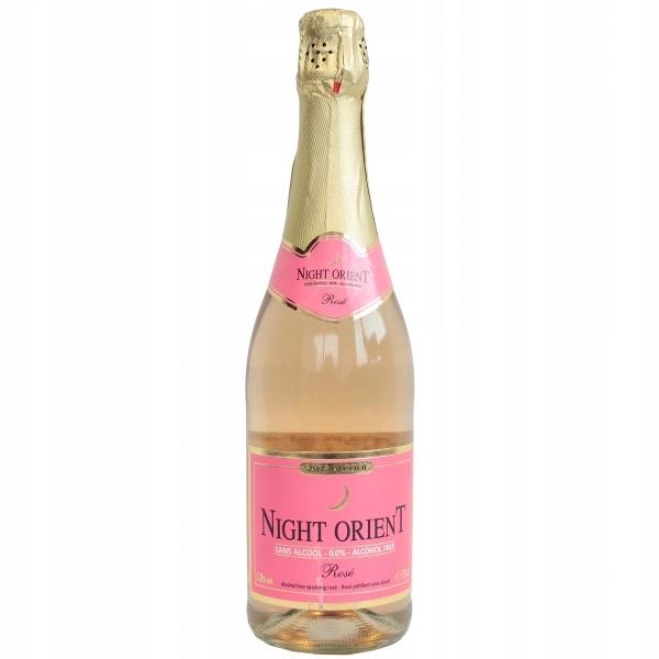 Wino bezalkoholowe MUSUJĄCE Night Orient różowe