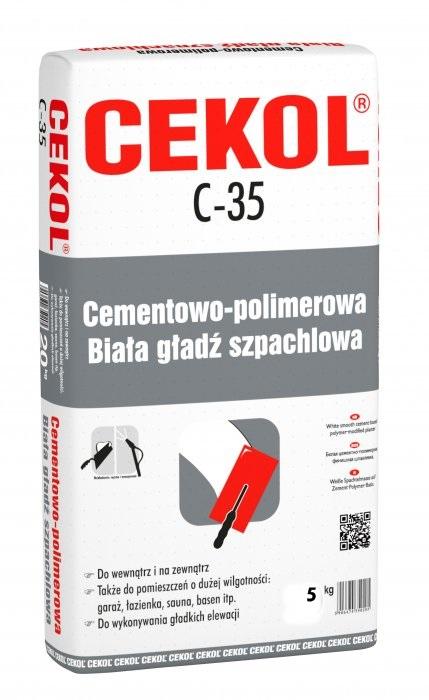 Cekol C-35 Cement Cement Outdoor White 5kg