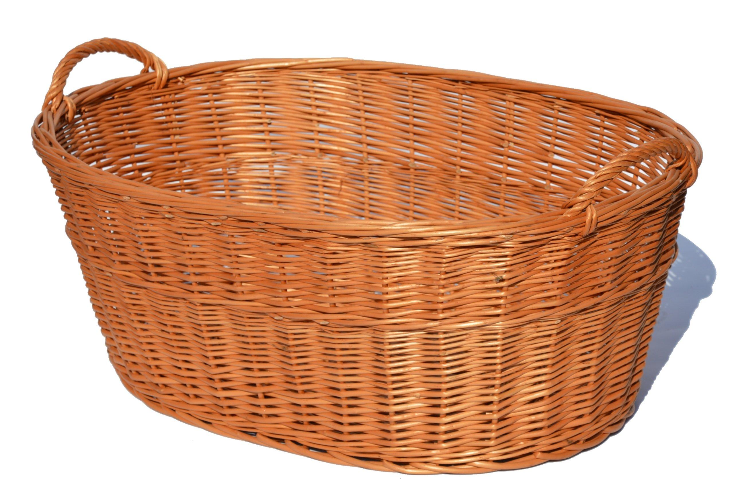 Košík na pranie pranie PLNENIE PRÁCE PRÁCE WICKER90