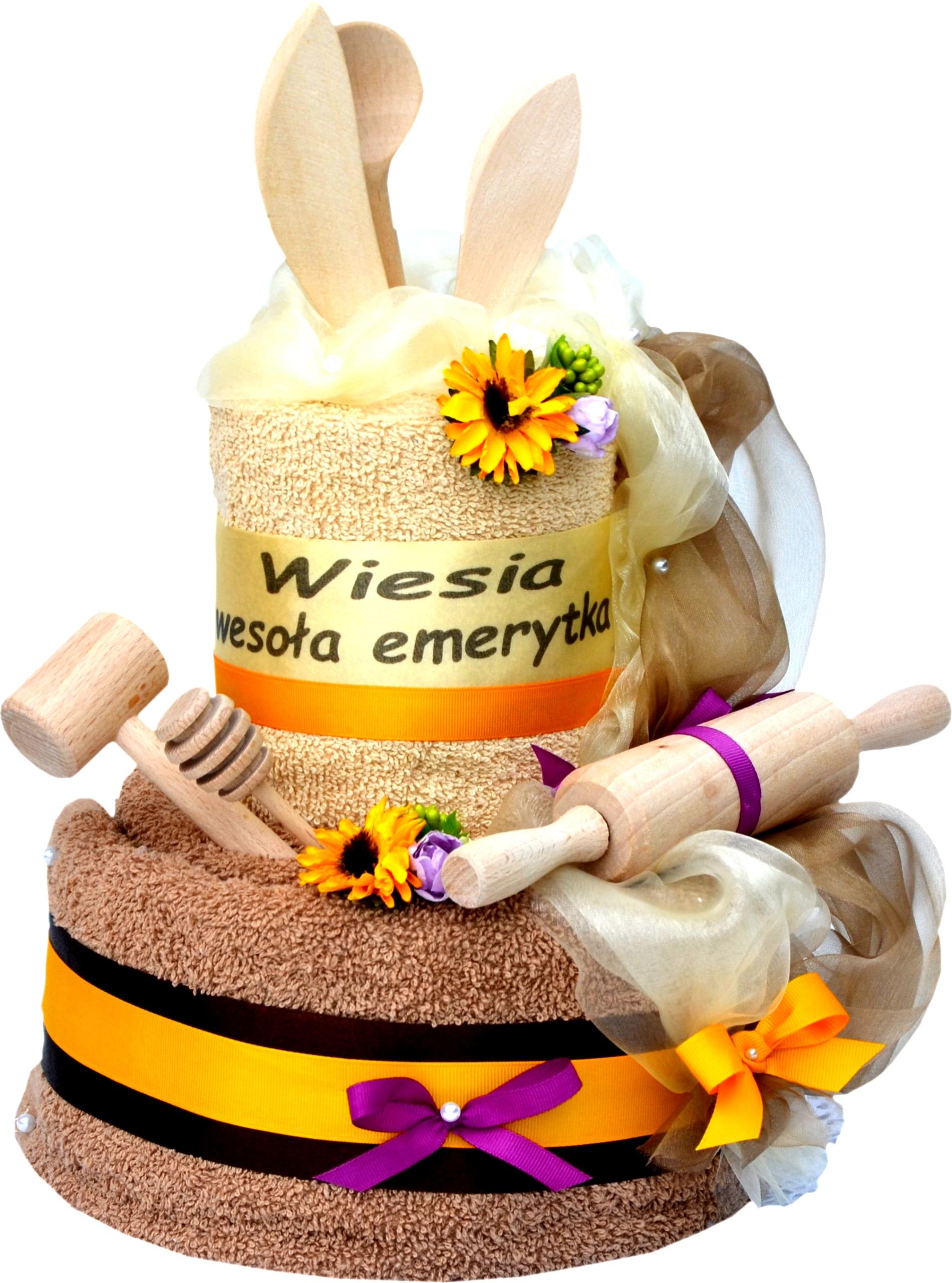 Подарок на день Рождения, Именины Торт из Полотенец, ВЫШИВКА
