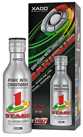 XADO AMC 1 STAGE MAXIMUM ENGINE ATOMIC 3 В 1 БУТЫЛКА