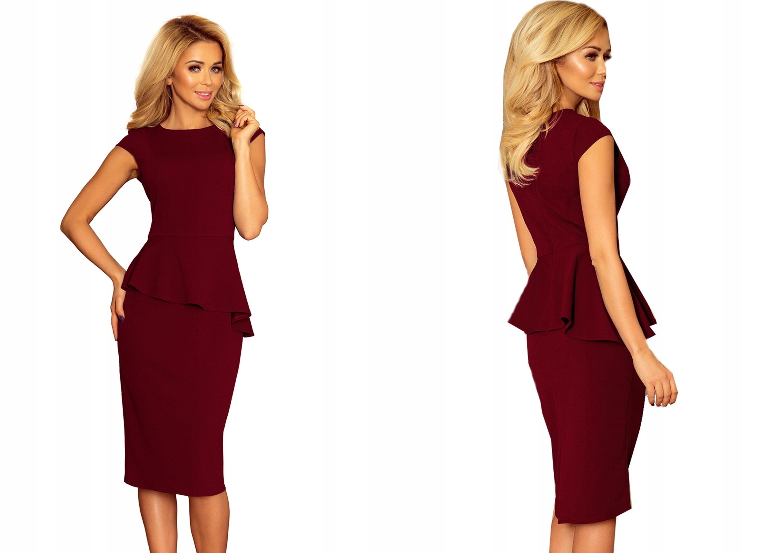 76afdb8e02 OŁÓWKOWA SEXY Sukienka WIECZOROWA midi 192-6 M 38 7581107491 - Allegro.pl