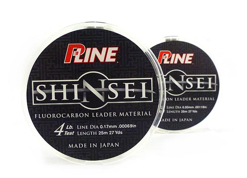 P-line Shinsei 50m 0.317mm6,3kg Japonsko Fluoroconbon