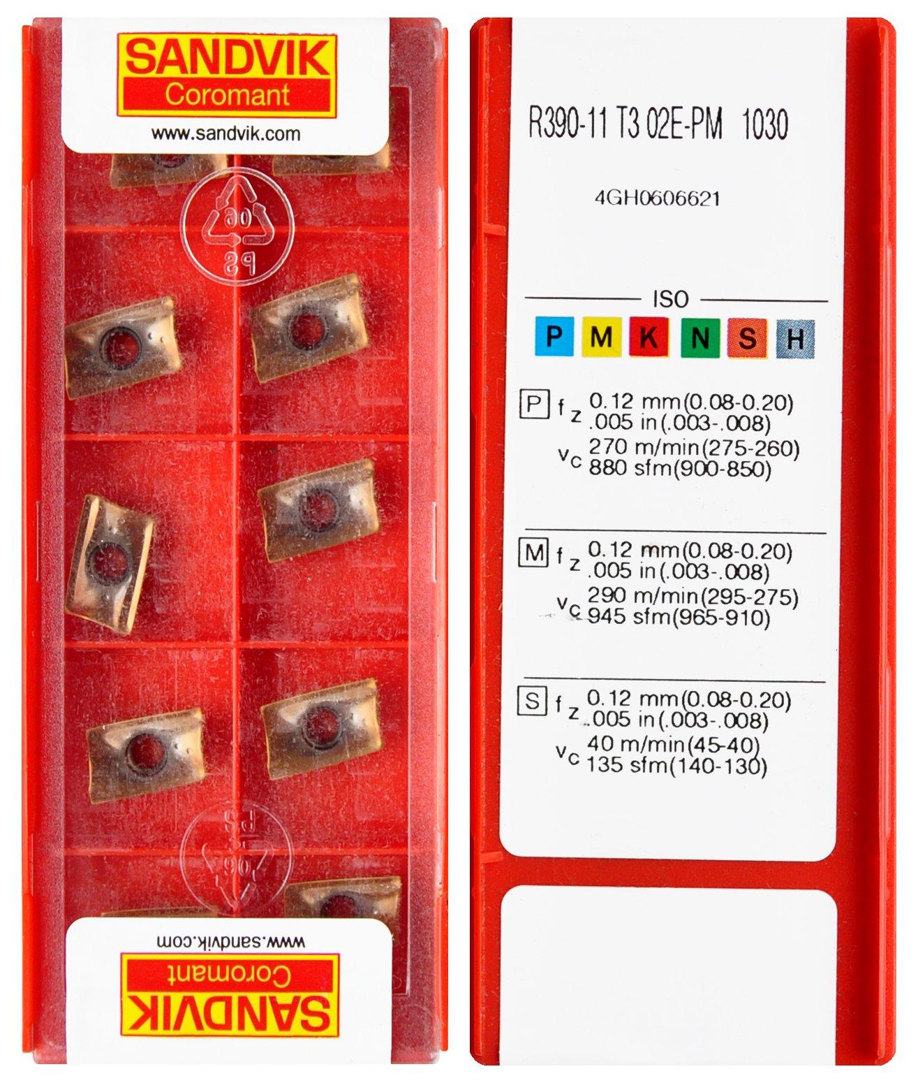 Dlaždice R390 11T302 E-PM 1030 SANDVIK * FV *
