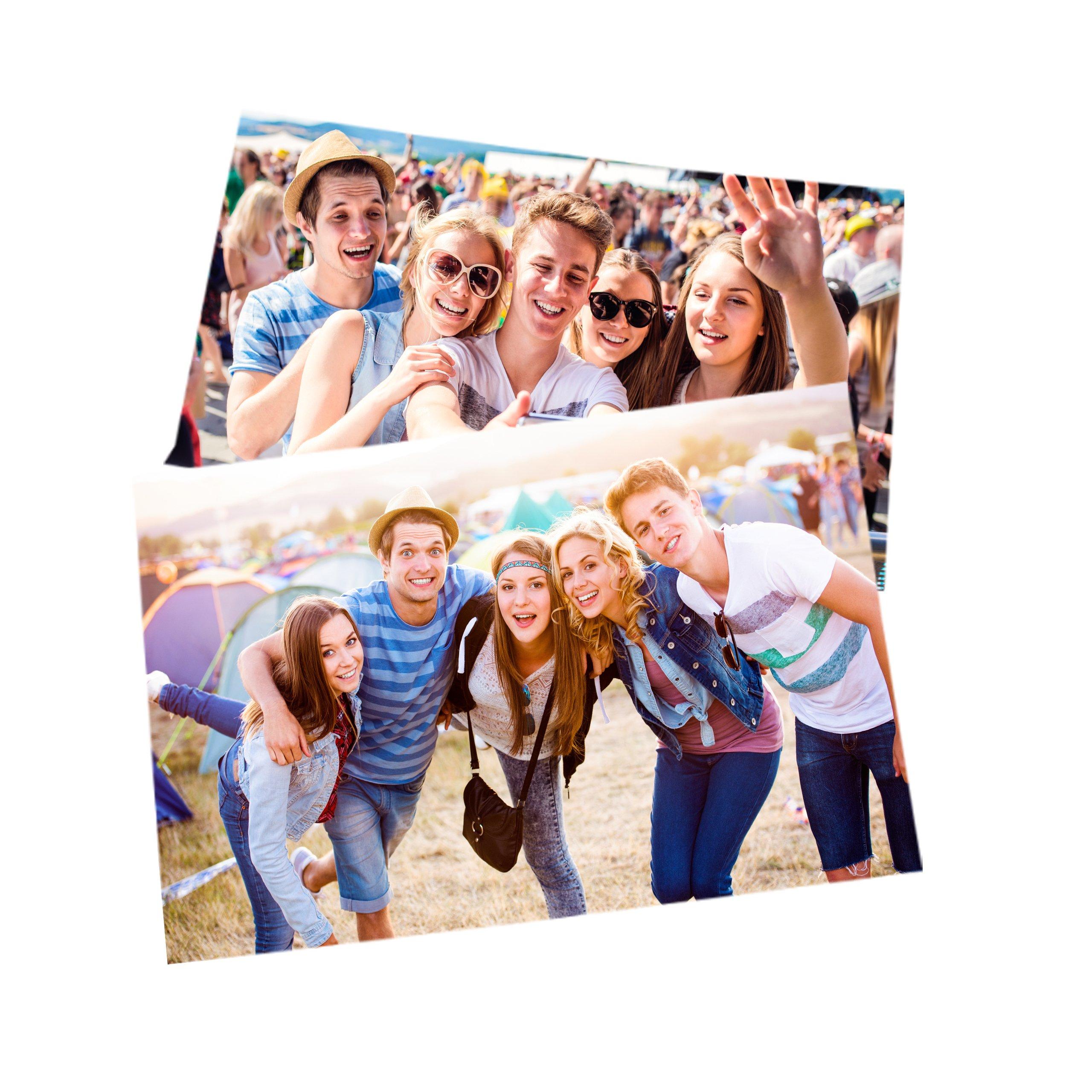 Item 50 photos 10x15 call call prints