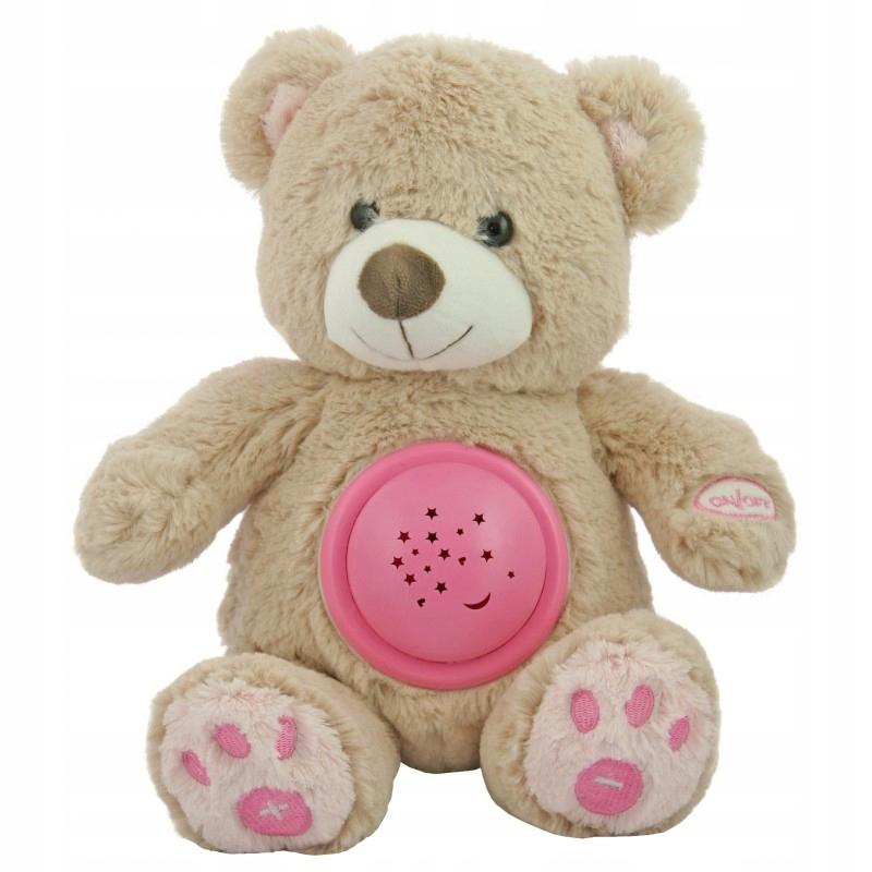 * Hudobný medvedík s projektorom Cuddian Stars