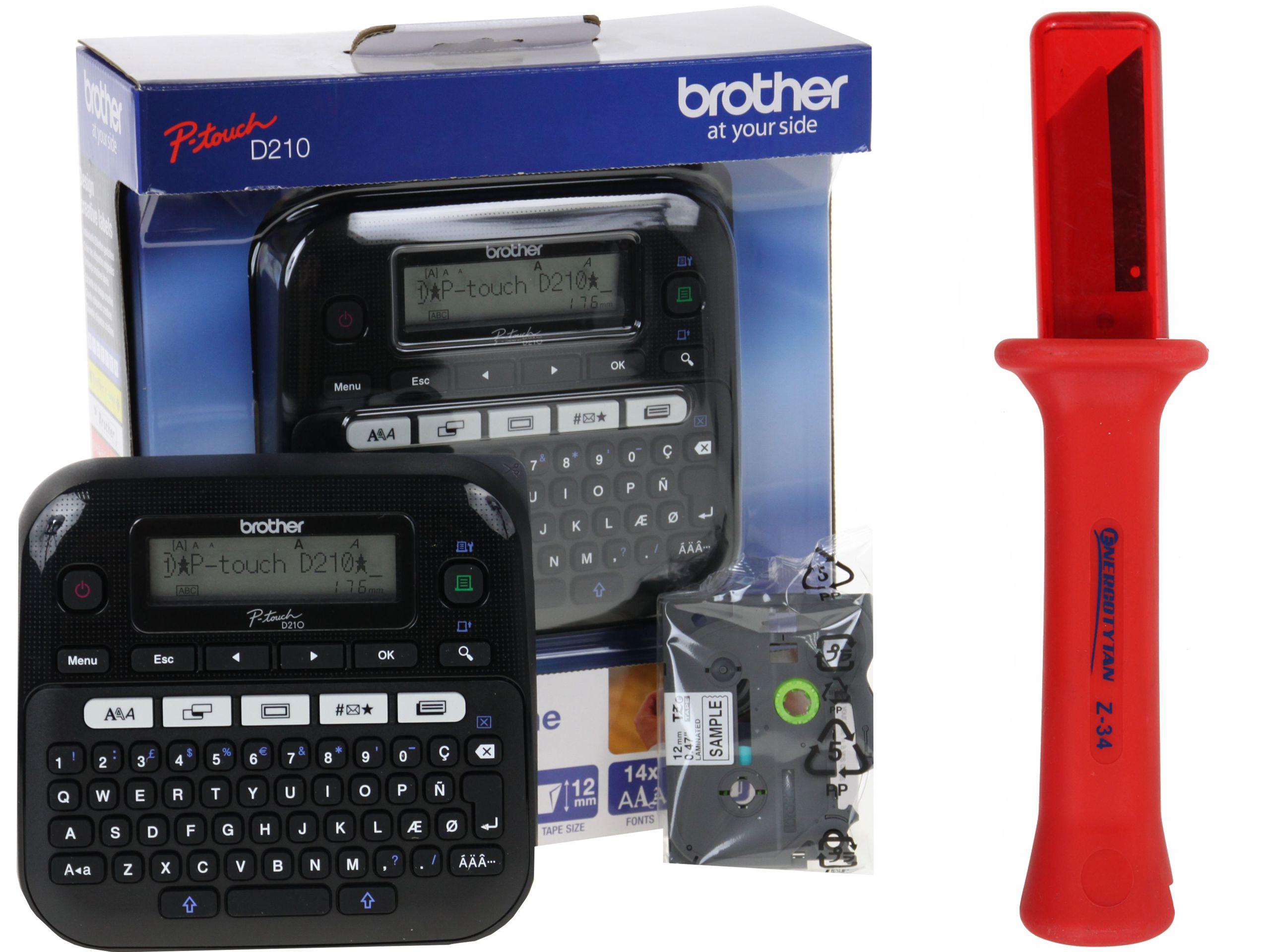 Brother PT-D210 P-touch + nožné štítky