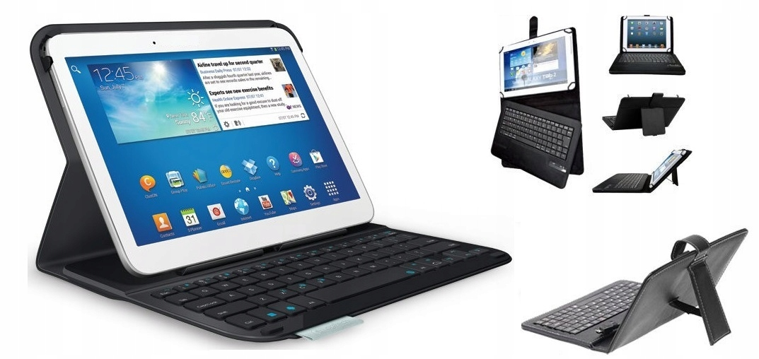 Item TABLET 10 INCH 16GB BLUE GPS CASE WITH KEYBOARD