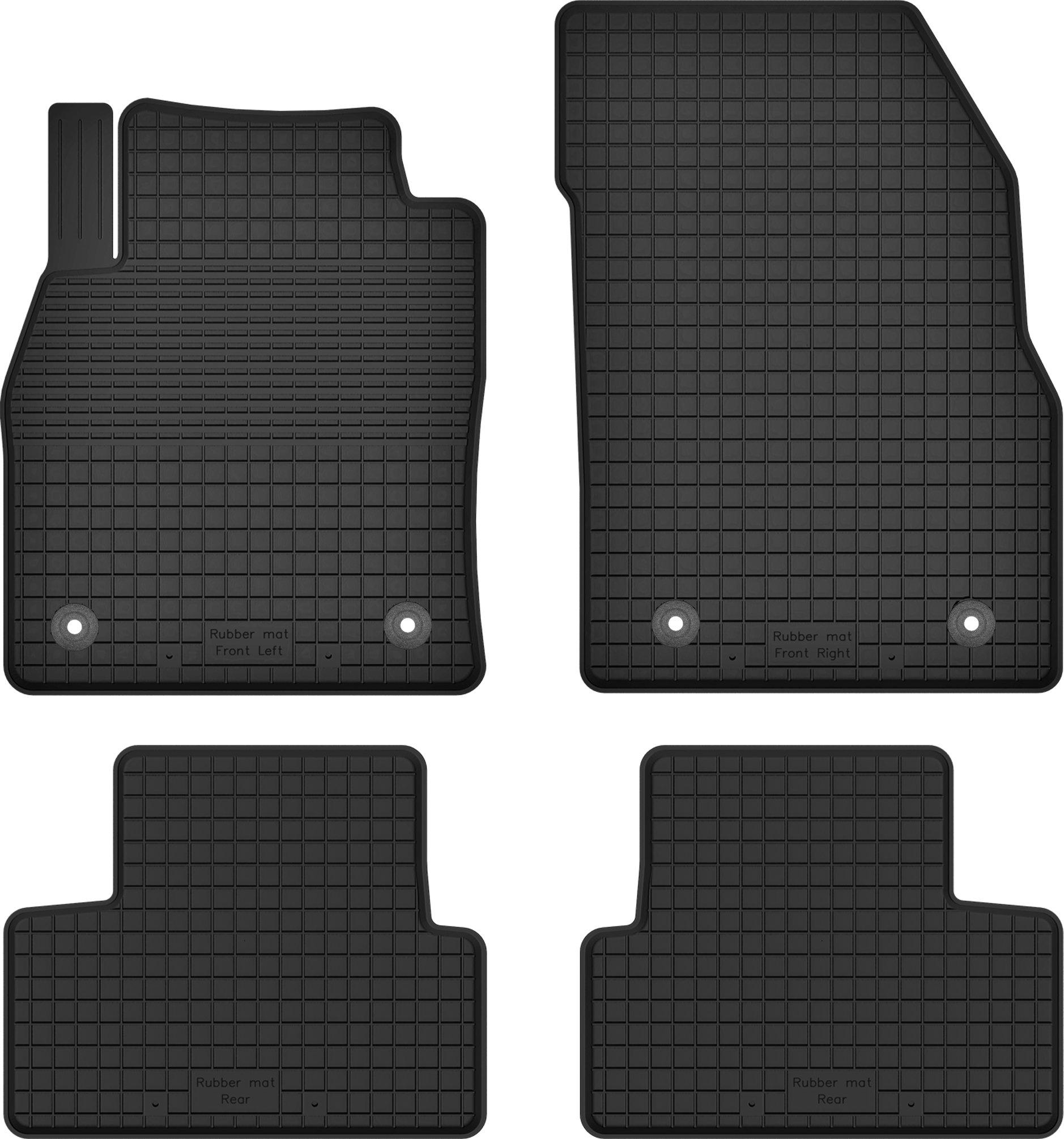 OPEL ASTRA IV 4 J резиновые коврики + стопоры