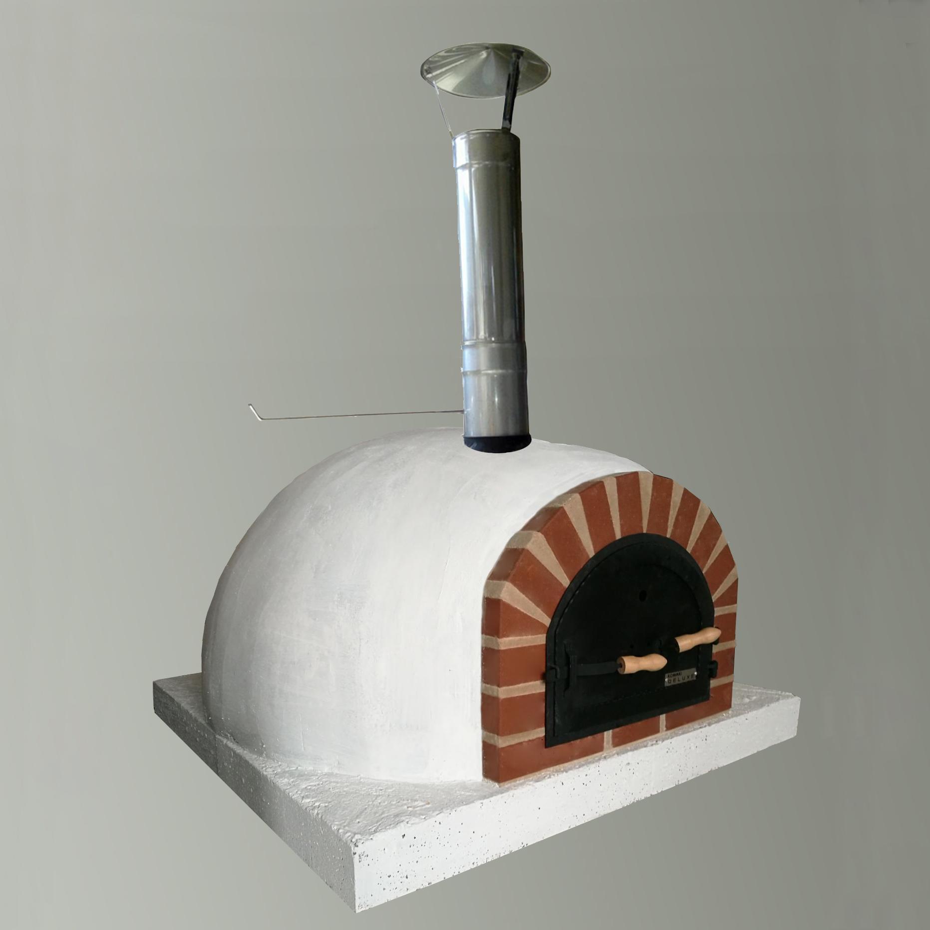 Pečené drevo spaľujúce chlieb pre pizze chlieb 60cm