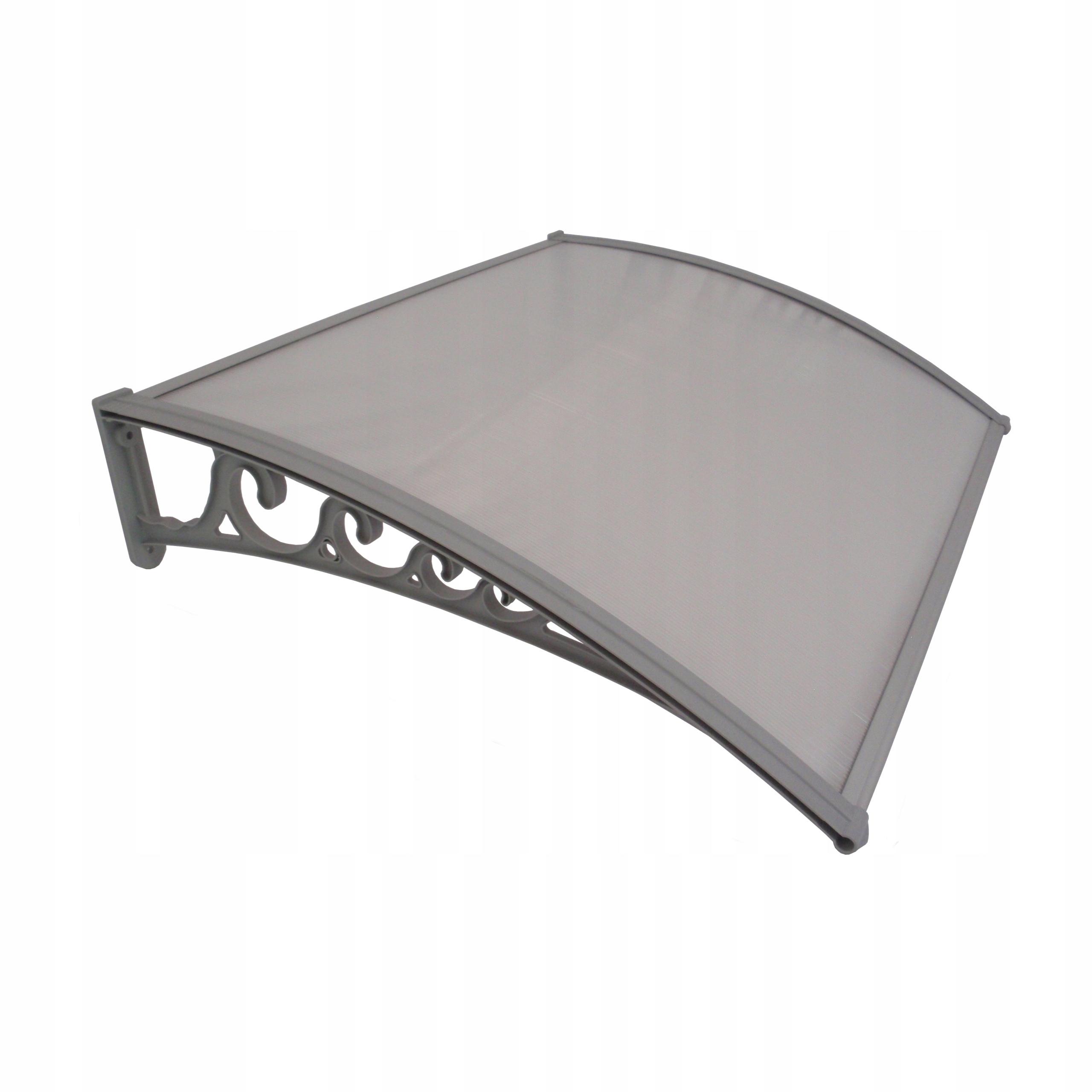 Strecha nad dvere, krytina 100x80, polykarbonát