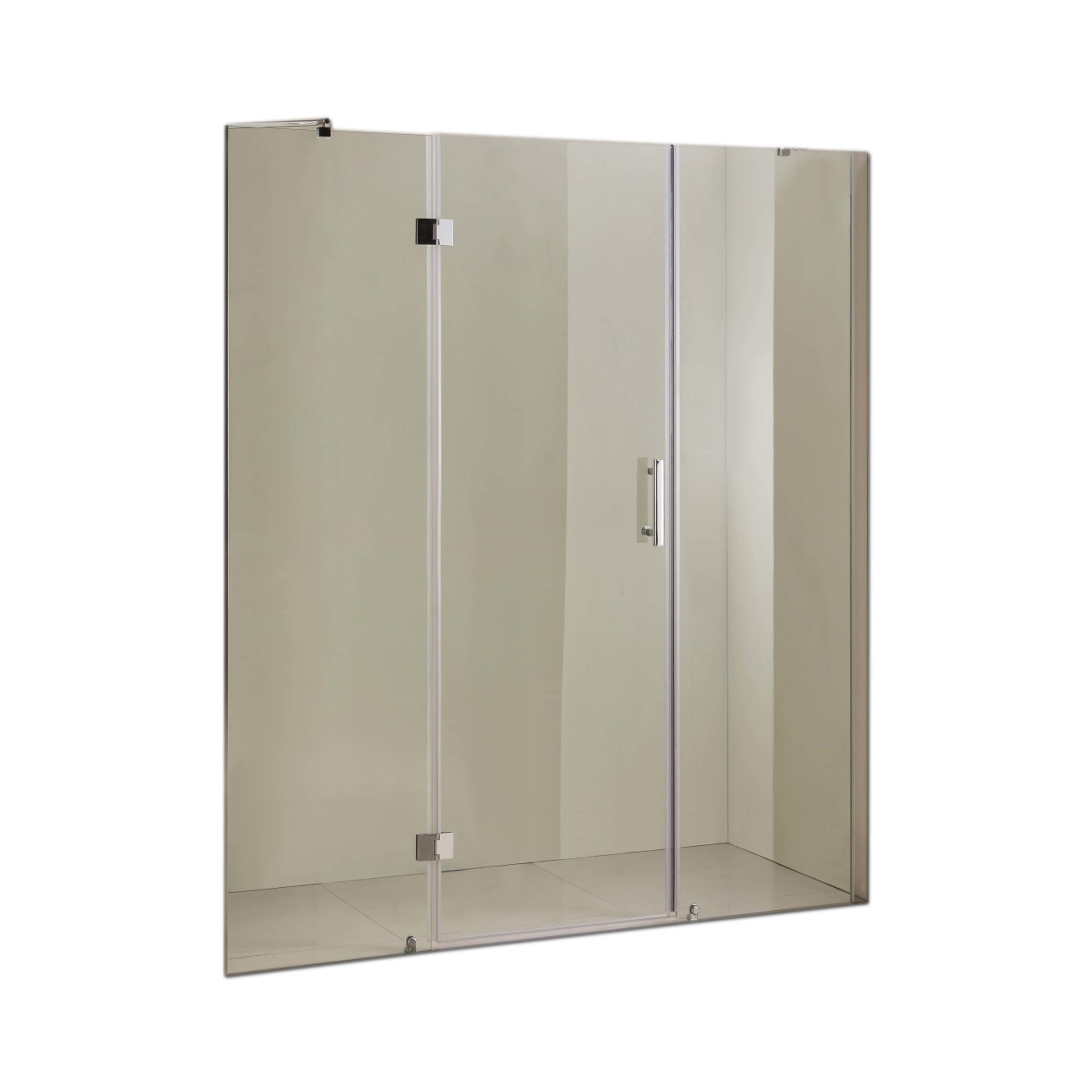 Centrálne sprchové dvere 160 nastaviteľné 159-162cm