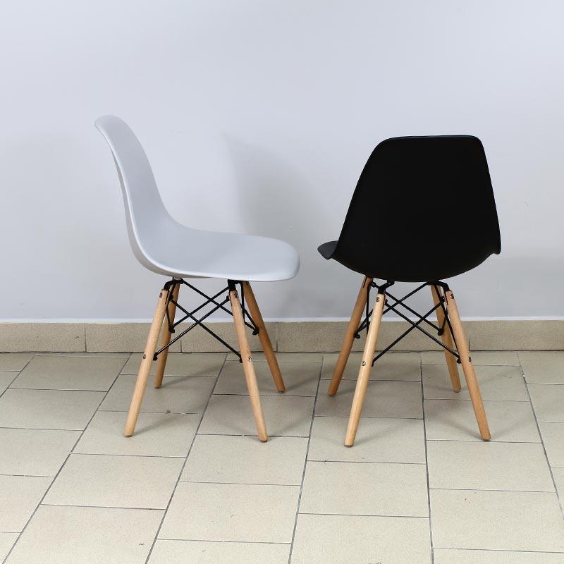 PARIS MILAN LOGANO KRZESŁO DSW krzesła BIAŁE 553AB 58,90