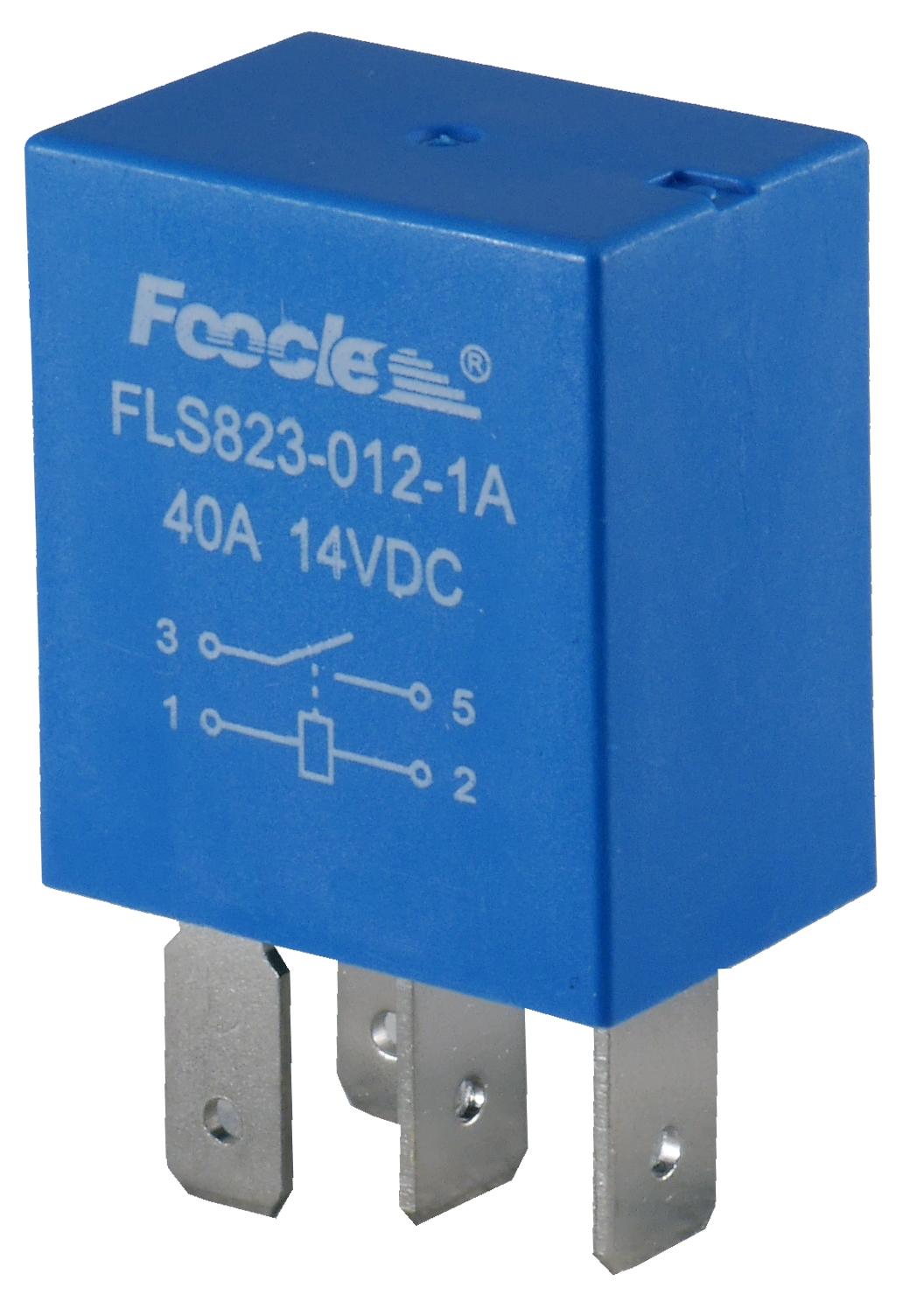 блок автомобильный 12v 40a 4 pin-код разомкнутый контакт микро