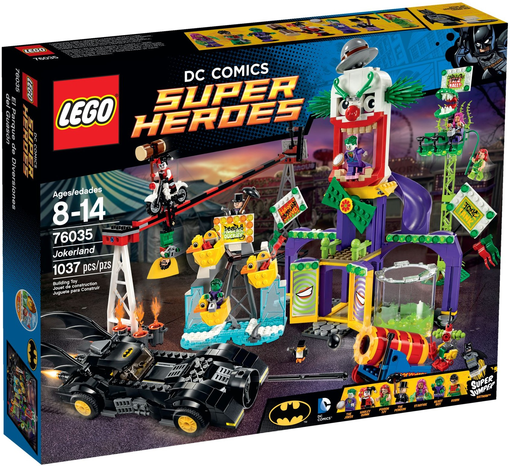 LEGO BATMAN 76035 Jokerland Robin Penguin StarFire
