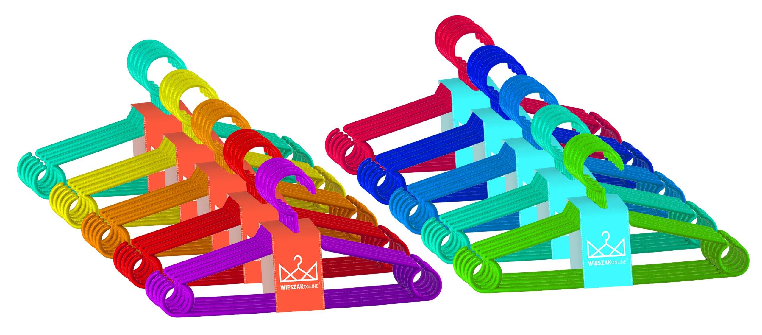 Вешалки для детской одежды маленький цвет 50 шт.