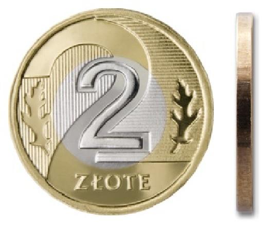 2 злотых 2021 монетный двор