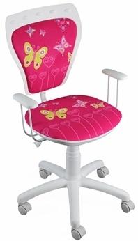 Krzesło obrotowe dla dziecka Kitty | Dostawa 0 zł