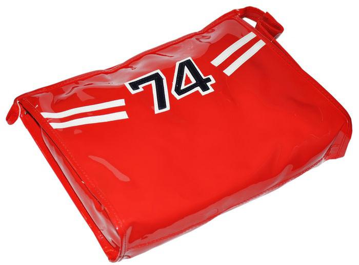 Červená kozmetická taška 74 Alessandro Salvatore